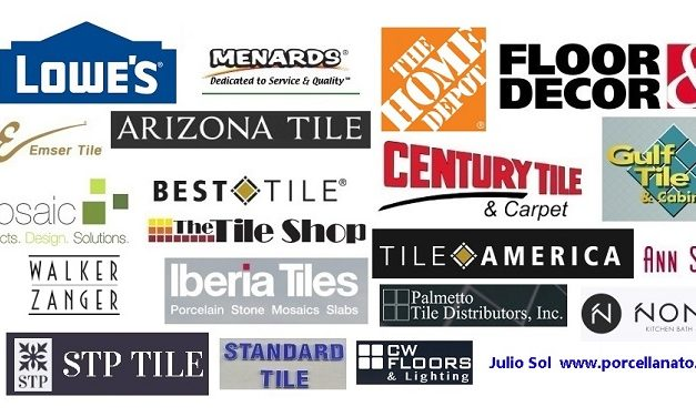Top ceramic and porcelain tile retailers in United State